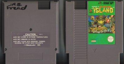 Hudson's Adventure Island NES Vintage Game Original Nintendo