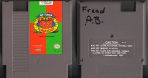 Attack of the Killer Tomatoes NES Vintage Game Original Nintendo