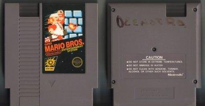 Super Mario Brothers NES Vintage Game Original Nintendo
