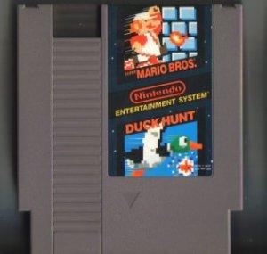 Super Mario Bros / Duck Hunt NES Vintage Game Original Nintendo