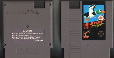 Duck Hunt NES Vintage Game Original Nintendo