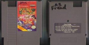 Double Dragon Tradewest NES Vintage Game Original Nintendo