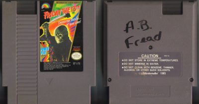 Friday The 13th NES Vintage Game Original Nintendo