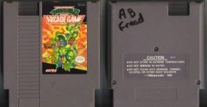The Arcade Game Teenage Mutant Ninja Turtles Ultra NES Vintage Game Original Nintendo