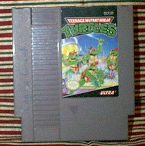 Teenage Mutant Ninja Turtles NES Vintage Game Original Nintendo