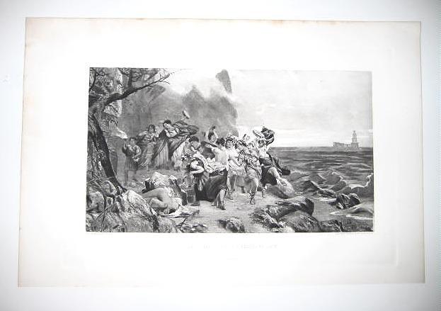 'The Companions of Tiberius at Capri' by Siemeradsky