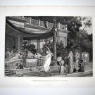 &quot;A summer Repast at the house of Lucullus at Tusculum&quot;