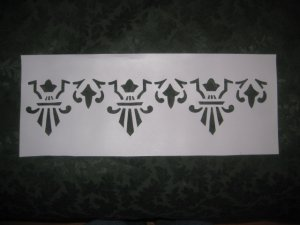 Historic Victorian Stencil Set : Knox Hill Cottage Dining Parlor Stencil