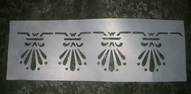 Historic Victorian Stencil Set : Knox Hill Cottage Bedroom Stencil