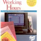 Working Hours Scheduling Software for MS-DOS