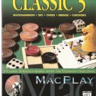 MacPlay the Classic 5 Backgammon, go, Chess, Bridge,Checkers