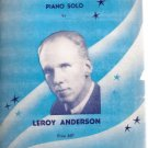 Blue Tango  Piano Solo