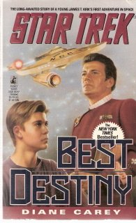Star Trek Best Destiny by Diane Carey 0671795880