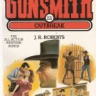 The Gunsmith # 191 Outbreak by  J.R. Roberts 0515121797