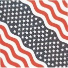 Patriotic Stars And Stripes Bandana
