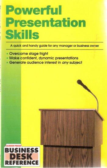 Powerful Presentation Skills Career Press 1561411098