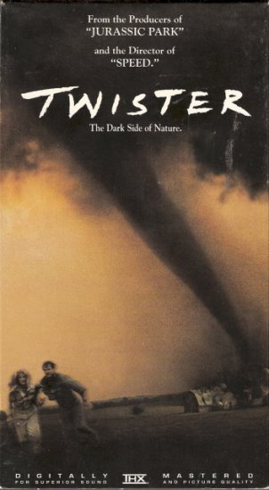 Twister Starring Helen Hunt Bill Paxton
