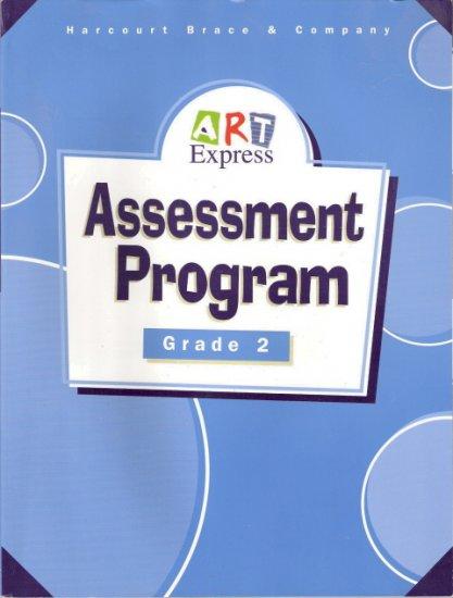 Assessment Program Art Express Grade 2 by Harcourt Brace and Company  0153102039