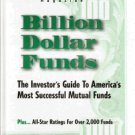 Billion Dollar Funds Norman G. Fosback 0917604474