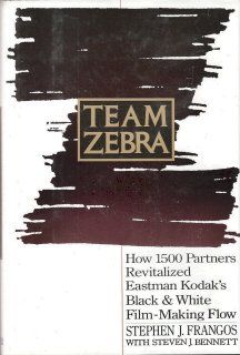 Team Zebra by Stephen J. Frangos 0939246384
