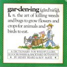 Gardening: A Gardener's Dictionary by Henry Beard and Roy McKie 0894802003