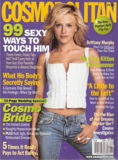 Cosmopolitan Magazine June 2003 Brittany Murphy