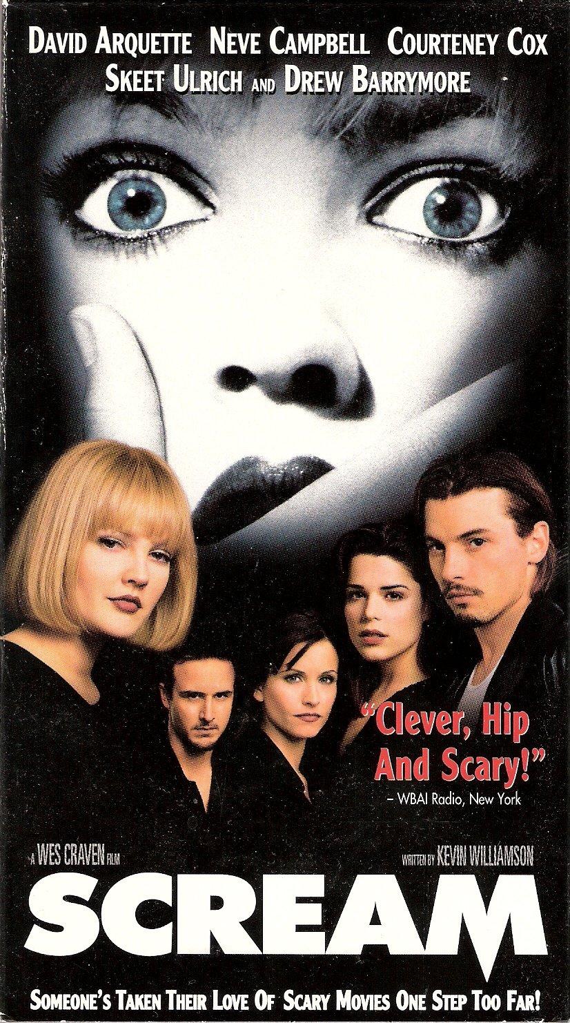 Scream Starring David Arquette Neve Campbell