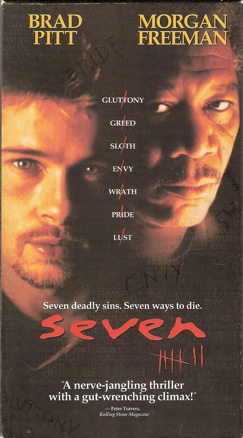 Seven Starring Brad Pitt Morgan Freeman