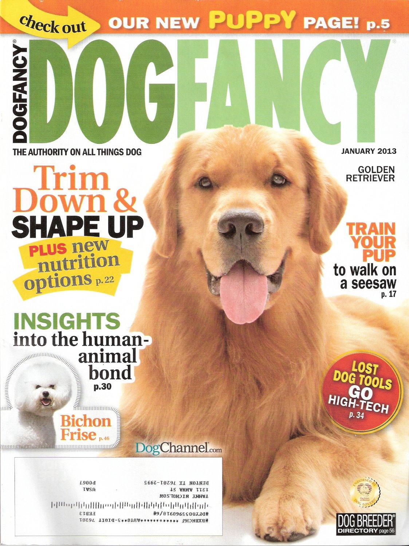 Dog Fancy Magazine January 2013