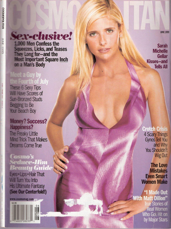 Cosmopolitan Magazine June 1999 Sarah Michelle Gellar