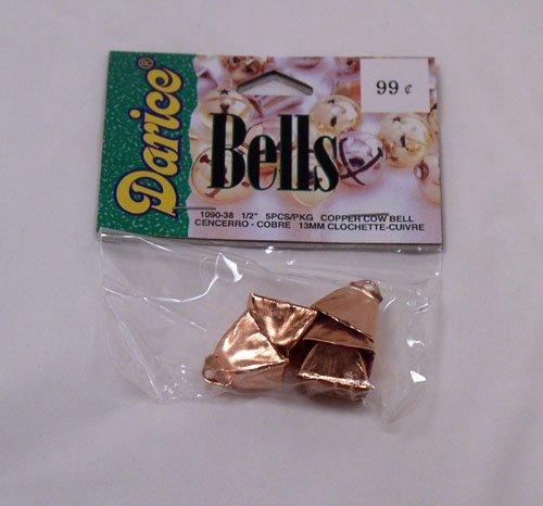 Copper Cow Bells 13 mm