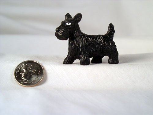 Scottish Terrier Scotty Dog 1:12