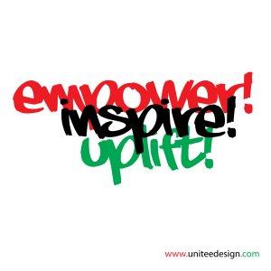 "T-Shirt-""Empower, Inspire, Uplift"""