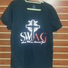 Ladies' T-Shirt (Standing with an Awesome God) SWAG