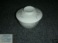 Noritake Belle Rose Cook N' Serve 1 Sugar Bowl with Lid