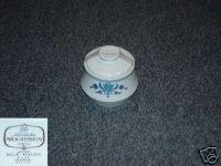 Noritake Blue Haven 1 Sugar Dish with Lid