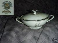 Noritake Candice 1 Sugar Dish ( Bowl ) with Lid