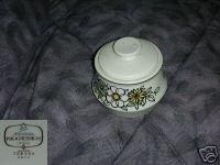 Noritake Tressa 1 Sugar Bowl ( Dish ) with Lid