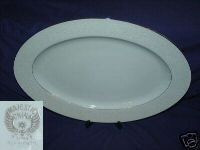 Majestic China Plymouth Pattern Oval Serving Platter