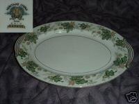 Noritake Daphne Oval Serving Platter