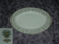 Noritake Dover Oval Serving Platter