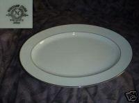 "Noritake Envoy 1 Oval Serving Platter 13 5/8"""