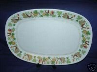 Noritake Homecoming Large Oval Platter