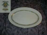 Noritake Macon Oval Serving Platter