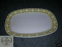 Noritake Sunglow Oval Serving Platter