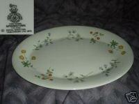 Royal Doulton Springtime 1 Oval Serving Platter