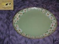 Taylor Smith Taylor Lazy Daisy Oval Serving Platter