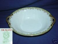 Noritake The Alsace Oval Serving Bowl with Handles