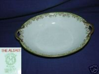 Noritake The Alsace Small Oval Serving Bowl w/ Handles