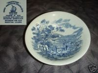 Wedgwood Countryside - Blue Round Serving Bowl